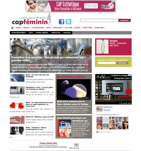 Capféminin.fr