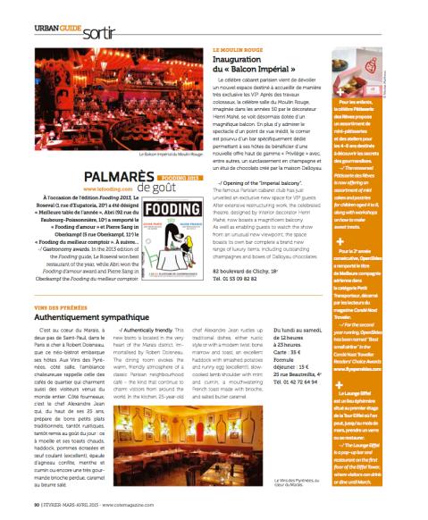 Cote Magazine février 2013 p1