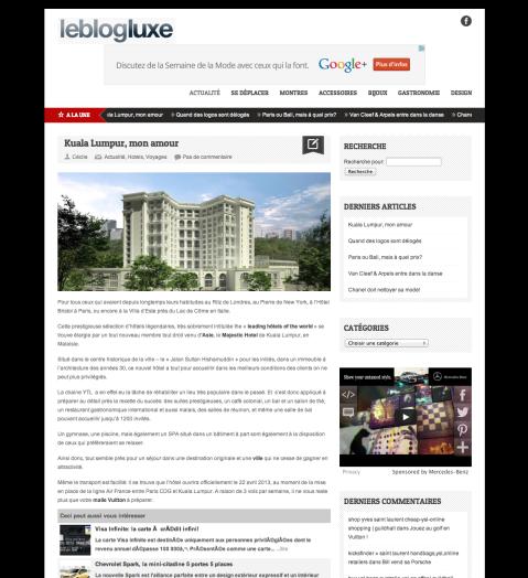 Leblogluxe.com