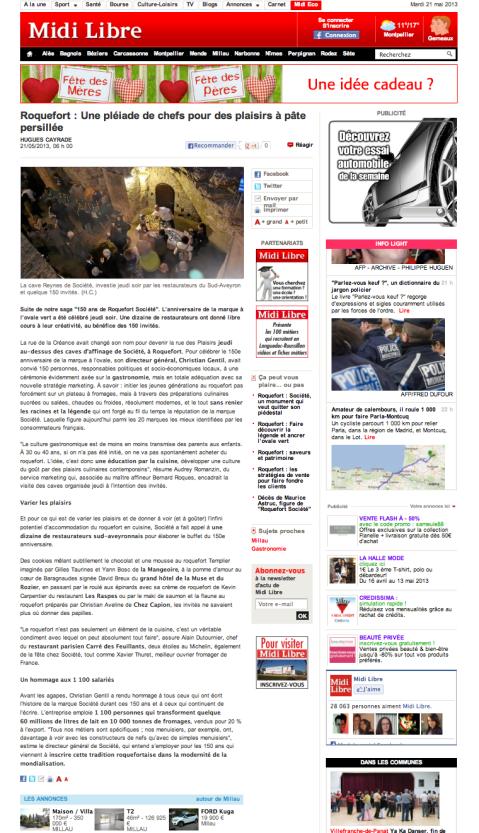 Midilibre.fr 21/05