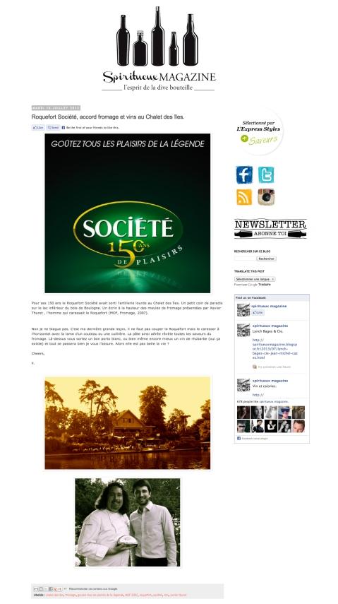 Spiritueux Magazine
