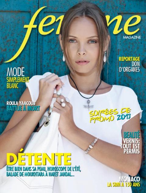 Femme Magazine aout 2013 couv