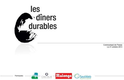 CP Les dîners durables