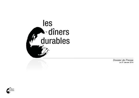 DP Les dîners durables