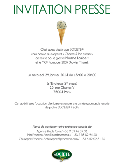 INVITATION CHEESE & ICE 29 janvier 2014-2