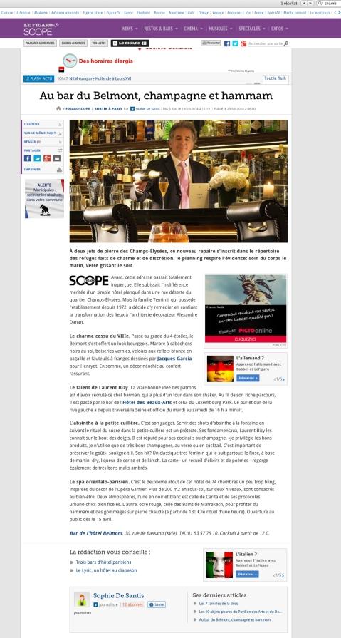 Figaroscope.fr 25 mars 2014