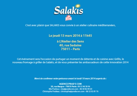 Invitation Cours de cuisine jeudi 13 mars SALAKIS-2