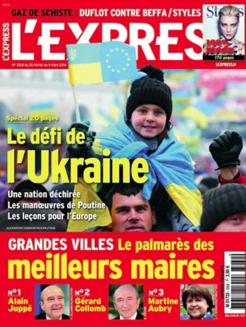 L'express 25 mars 2014