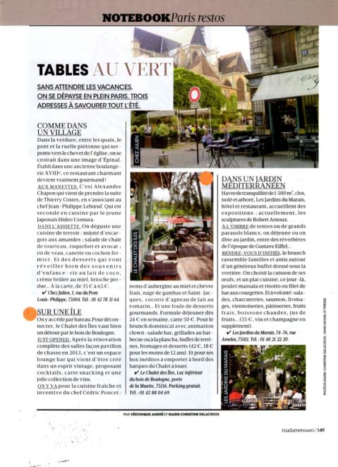 Madame Figaro 7 juin 2014 2