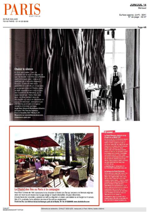 Paris Capitale juin juillet 2014