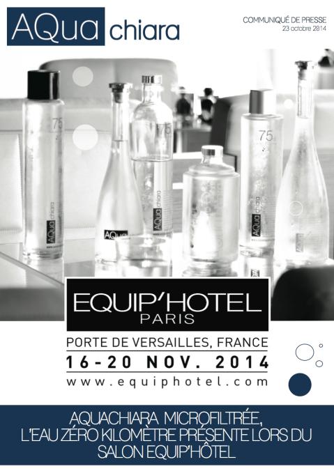 CP AQua chiara Equip'Hôtel 2014