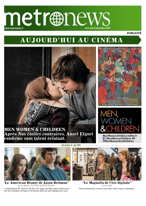 Metronews, 10 Décembre 2014