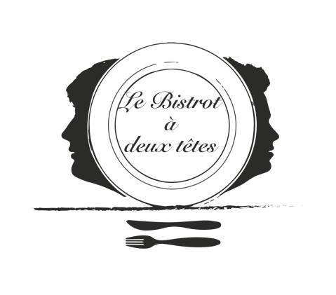 Logo Le Bistrot à deux têtes