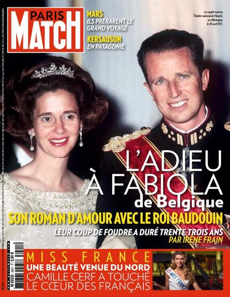 Paris Match, 11-17 Décembre 2014