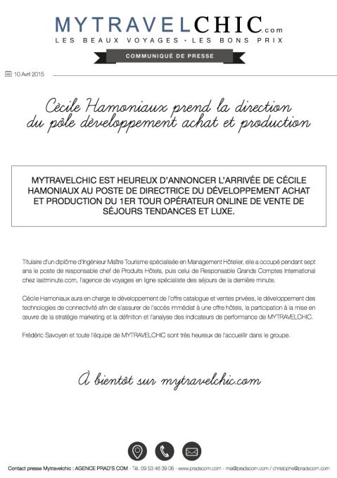 CP CÉCILE HAMONIAUX MYTRAVELCHIC 2015