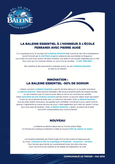 CP Atelier Culinaire Sel La Baleine 05 Mai 2015