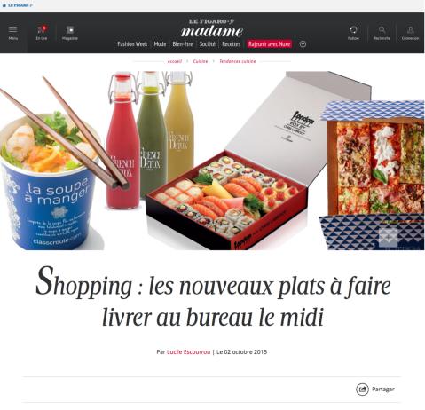 MadameFigaro.fr, 02 Octobre 2015