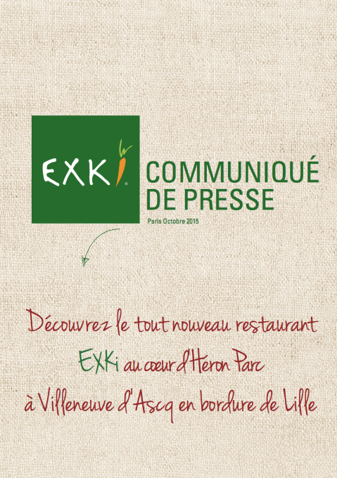 CP EXKi - Ouverture LILLE