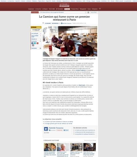 Lefigaro.fr, 22 Janvier 2016