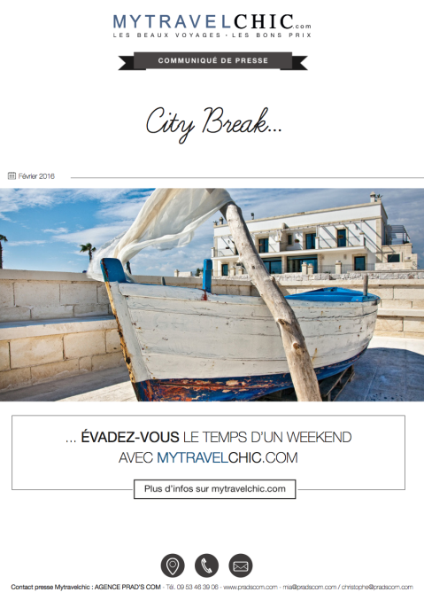 CP Les city breaks Mytravelchic-revu